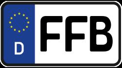 Kennzeichen Ffb